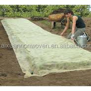 [FACTORY]High quality UV Treated Agriculture Biodegradable PP Spunbond Nonwoven Fabric Garden Fleece/ Ground Cover