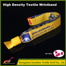 wholesale embroidery festival invitation card wristband