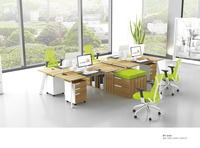 Modern office furniture workstation office workstations modular for 4 person