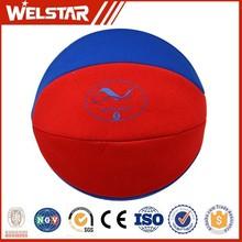 colorful neoprene basketball ball for supermarket