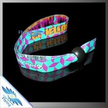 christmas ornaments woven fabric wristband fabric bracelet hot new gift2015