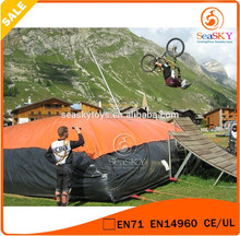 Gigante truco esquí de bolsas de aire inflable, big air bolsa venta