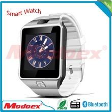 2015 new smart bluetooth watch phone wrist watch bluetooth smart watch mobile DZ09