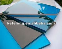 polycarbonate compact sheet with uv protection
