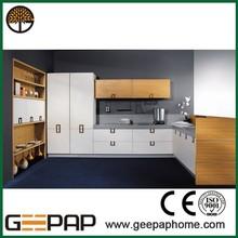 quartz countertop Kitchen bedroom wooden wardrobe design pictures