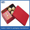 Wholesale metal small box printing cosmetic empty packagings Tin box