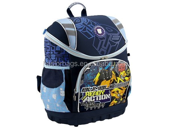 2016 Manufacturers Wholesale Russian Cartoon Middle School Bag For Children