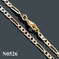 collares de moda 2015 Fashion Statement Necklace Gold Plated Men's Chain, New Gold Plated Chain Design For Men