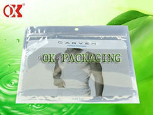 Accept Custom Order Apparel Industrial Use plastic pouch/underwear plastic packing bag