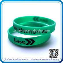 Manufacturer supplies fashion brand new silicone wristband for corporate anniversary gifts