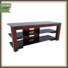 wooden furniture lcd installing led used tv stand