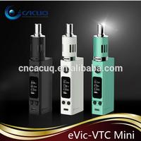 CACUQ Crazy pre-order Joyetech eVic VTC mini kit with temp control 60w box mod inside wholesale eVic-VTC mini