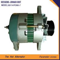 electric engine parts for excavator auto alternator best price 6D114