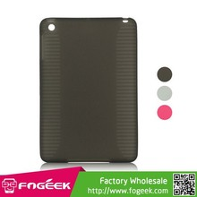 Fashion Skidproof TPU Gel Case Cover for iPad Mini