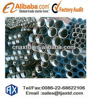 BS 1387 hot dipped galvanized round pipe for oil & gas