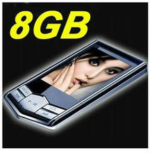 Hippest Hottest Cheapest MP3 MP4 Player with Colock