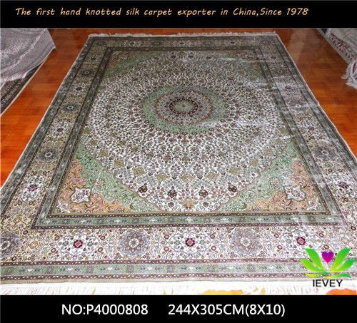China lowest prices rugs antique spun silk wall to wall for Wall to wall carpet cost