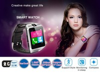 2015 New Wireless Touch watch with Compass/SMS/GSM SIM Function for Android and IOS