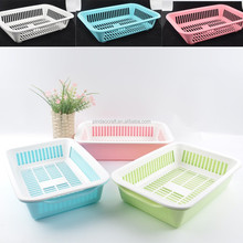 Fruits and vegetables plastic drain baskets MSD015