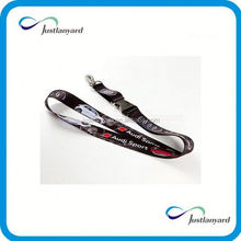 Low MOQ newest design cell phone sublimation polyester lanyard