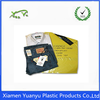 Yellow color printed courier plastic bags with self adhesive