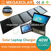Multifunctional High Capacity Solar Notebook Charger/ Solar Laptop Charger For Tablet And Mobile Phone