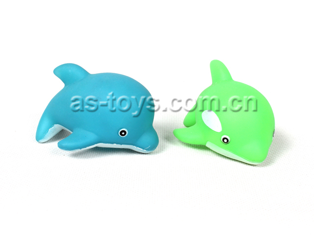 Blue whale toy rubber turtle bath toy rainbow fish plush for Rubber fish toy