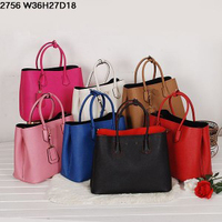 2014 new arrival top quality real leather women tote bags