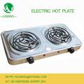 Mesa de aço inoxidável electric hot plate com queimador duplo/forno de cozimento