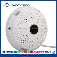 Amovision new promotion QP300 innovative new home products CCTV web 360 degree Fish eye camera