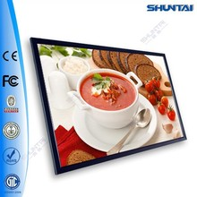 A2 sizes illuminated picture LED wall mounted poster frame
