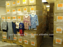 BRAND NEW CLOTHING & DOMESTICS M/W/C CLOTHING, BLANKETS, JEANS, SLEEPWEAR, SHOES & ACCESSORIES OVERSTOCK CONTAINER LOAD