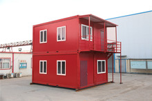 High quality prefab church prebuilt container houses german