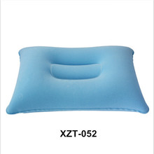 Wholesale alibaba good market very cheap rectangle bolster travel pvc inflatable neck pillow for outdoor camping