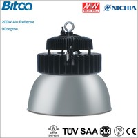 200W LED high bay lamp with Nichia chip and Meanwell driver UL DLC TUV SAA certificate
