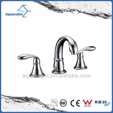 High Quality Modern Design Double Handle Basin Sink Faucet
