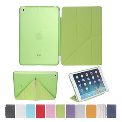 Wholesale Ultra Slim Different Folders Magnetic Smart Cover Leather Case for iPad mini 1/2/3
