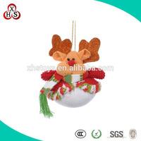 Lovely EN71 Standard Xmas animal Bear Plush Toy