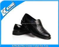 New Fashion Pure Color High Quality 100% Genuine Men Leather Shoes With Cheap Price