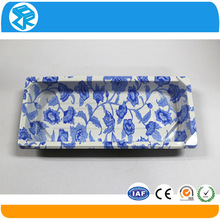 Eco-Friendly plastic divided food lunch disposable tray