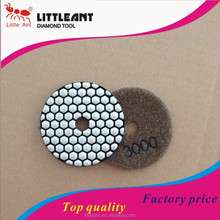 4''diamond polishing pad dry use ,diamond tools for polishing marble ,china diamond tools