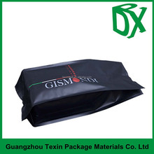 2015 new product matte surface plastic coated aluminum foil and side gusset packaging bag for food packing
