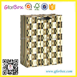 Promotional Paper Bags 3D Printing Gift Bag Shopping Bag For Man