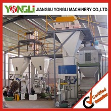 Nanjing yongli CE ISO approved complete wood pellet production line