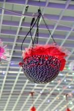 2015 hanging basket decorative light for home/wedding decoration
