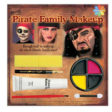 Halloween Carnival Fancy Dress Party Makeup kits 6 colors body Face Paint painting