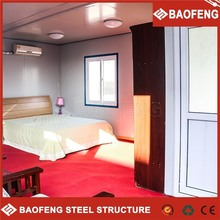 convenient to build shock-proof 1 bedroom mobile homes 1 container 1 floor house plans