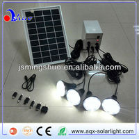 Portable solar LED lamp,solar LED light,solar system 5W for indoor