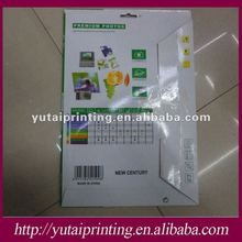 RC double sided glossy photo paper
