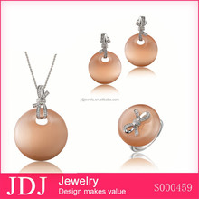 Trendy Chinese Jewelry Set 925 Sun Sterling Silver Ring